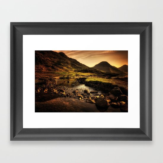 Cumbria Landscape Framed Art Print
