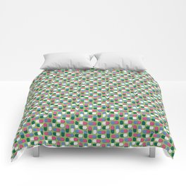 Colorful pills Comforters