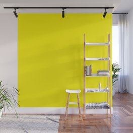 Simply Bright Yellow Wall Mural