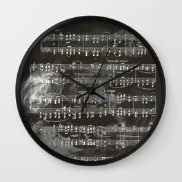 Brahms Sheet Music - Ballade Wall Clock