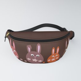 Easter Egg Chocolate Bunnies - Make Room For Me! Fanny Pack