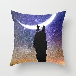 A Sonata at Nightfall Throw Pillow