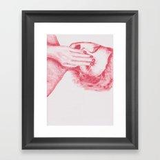 Rostro Framed Art Print
