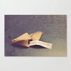 Sweet fortune teller Canvas Print