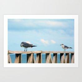 Bird collection _02 Art Print