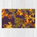 rich floral on purple by clemm