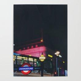 London nightlife ... Poster