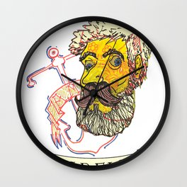 Hold Fast Wall Clock