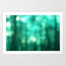 Sea Green Glory Art Print