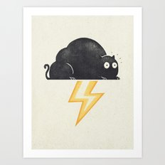 The Thunder Cat Art Print