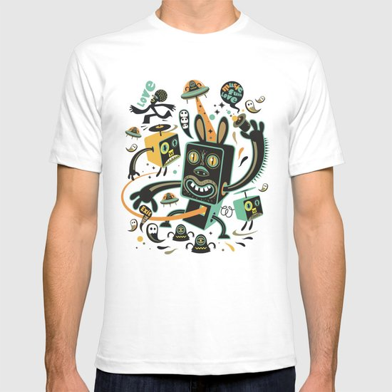 Little Black Magic Rabbit T-shirt