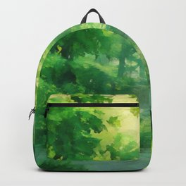 Warming Green Forest Backpack