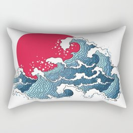 The Second Great Wave Rectangular Pillow