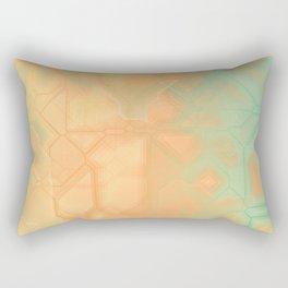 future fantasy riverbank Rectangular Pillow