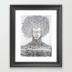 Nerve Roots Framed Art Print