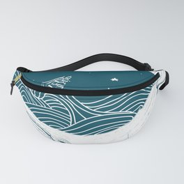 Whale dream Fanny Pack