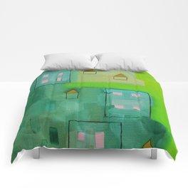 Tiny Houses Comforters