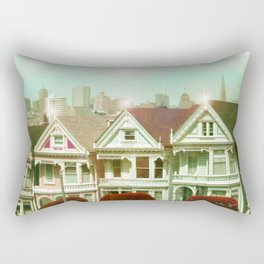 Painted Ladies - remix Rectangular Pillow