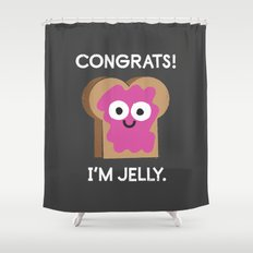 Berry Impressive Shower Curtain