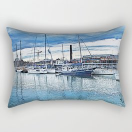 Tallinn art 1 #tallinn #city Rectangular Pillow