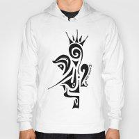 crown Hoodies featuring Crown by Dror Designs