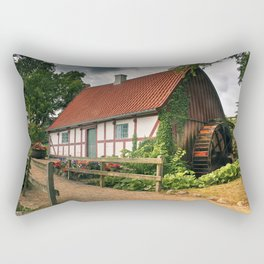 Timbered House Rectangular Pillow