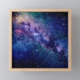 Milky Way Framed Mini Art Print