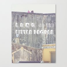 Land of the Little People Canvas Print