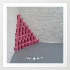 Variation Number 15 (photo) Art Print
