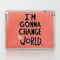 Change The World Laptop & iPad Skin
