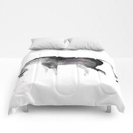 Horse (Painted II) Comforters