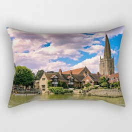 Along the Thames. Rectangular Pillow