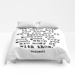 Charles Bukowski Quote Free Soul Comforters