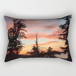 In the Woods of South Lake Tahoe Rectangular Pillow