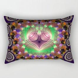Spirals and stunning patterns Rectangular Pillow