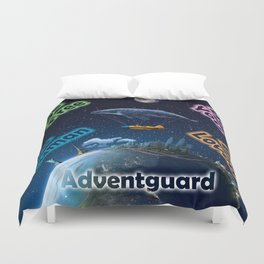 Advent Guard Earth Tranquil Whale Aspect Duvet Cover