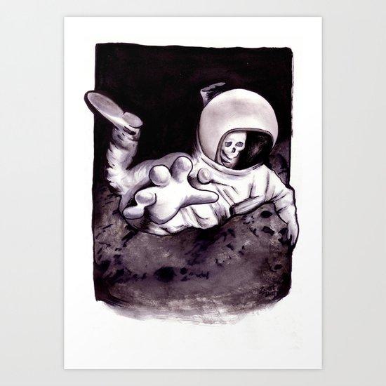 Bastard Sons In Space Art Print