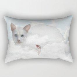 The Rising Rectangular Pillow