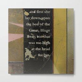 Breadcrumbs: Goldilocks and the Three Bears Metal Print