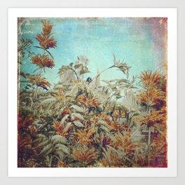 Vintage Garden Art Print