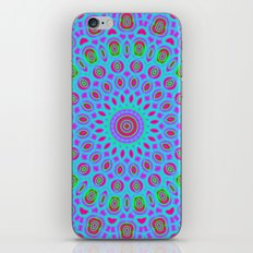 Psychedelic mandala iPhone & iPod Skin