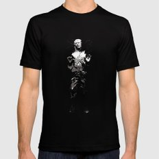 Han Solo Carbonite MEDIUM Mens Fitted Tee Black