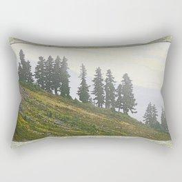 TIMBERLINE TREES Rectangular Pillow