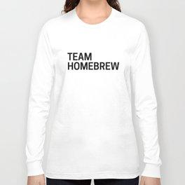 Team Homebrew Long Sleeve T-shirt