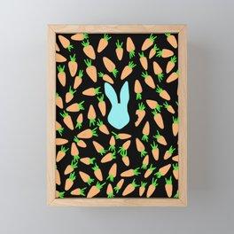 The feast Framed Mini Art Print