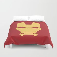 Iron man superhero Duvet Cover