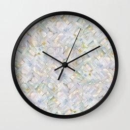 woven seashells Wall Clock