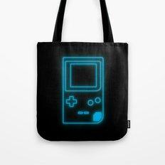 Neon Game Boy Pocket Tote Bag