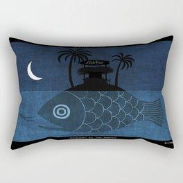 """""""Denpasar"""" Illustration Toni Demuro Rectangular Pillow"""