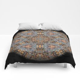 Lacebark Elm Tree Mandala #3513 Comforters
